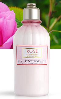 Lait Corps Parfumé Rose 250 ml