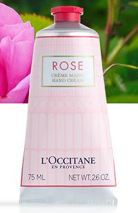 Crème Mains Rose 75 ml
