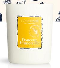 Bougie Parfumée Douceur Immortelle 140g