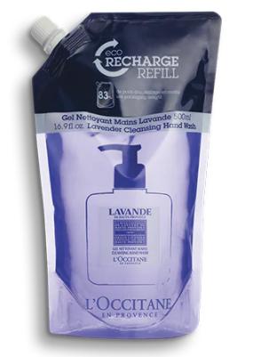 Eco-Recharge Gel Nettoyant Mains Lavande 500 ml