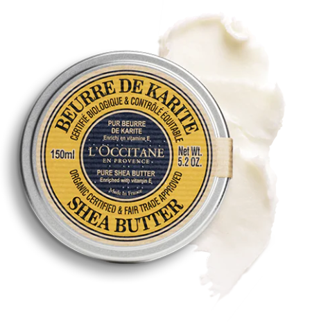 Beurre de Karité Pur bio 150 ml