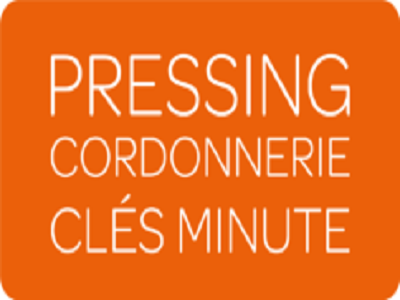 Logo Pressing Cordonnerie Cles Minute Centre Commercial Athis-Mons