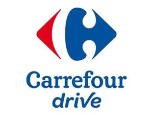 Logo Carrefour Drive Centre Commercial Athis-Mons