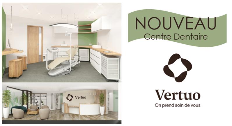 Nouveau cabinet dentaire Vertuo au Centre Commercial Athis-Mons